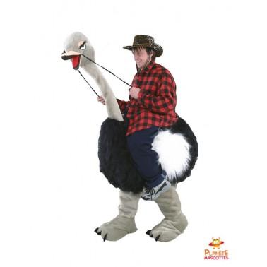 Costume mascot : Ostrich back