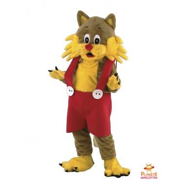 Disfraz del gato vestido Planète Mascottes