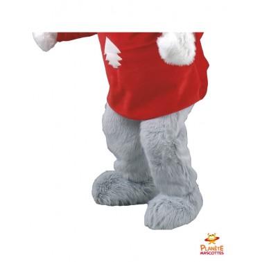 Pantalon mascotte souris au ski