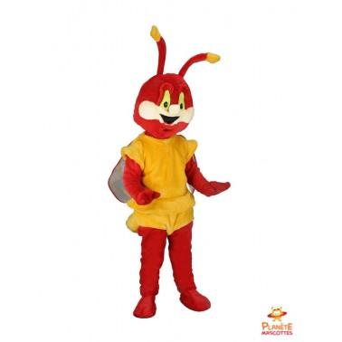 Dragonfly mascot costume