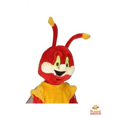 Costume mascotte de libellule