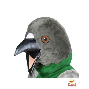 Tête mascotte d'oiseau