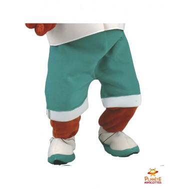 Pantalon mascotte renard habillé