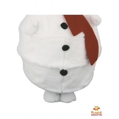 Pantalon costume mascotte bonhomme de neige