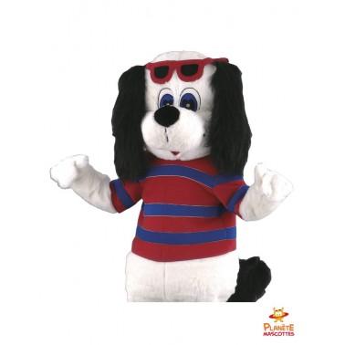 Mascotte de chien Planète Mascottes