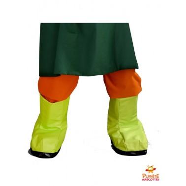 Pantalon costume jardinier salade