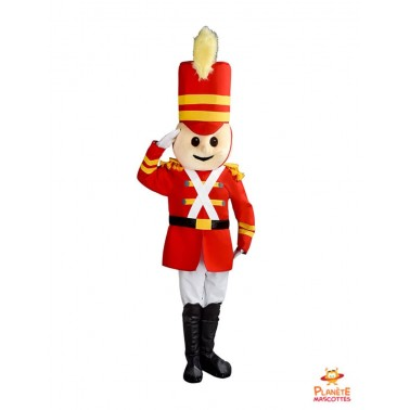 Little Soldier Mascot Costume