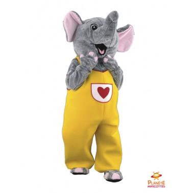 Elephant costume mascot
