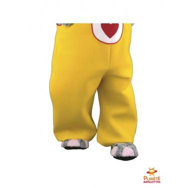 Pantalon mascotte éléphant costumé