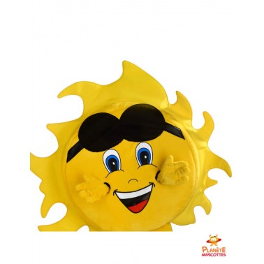 Costume mascotte de soleil