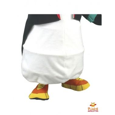 Pantalon mascotte costume de pingouin