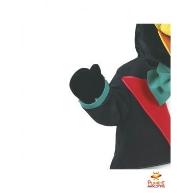 Détails costume mascotte pingouin