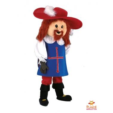 Musketeer Aramis mascot