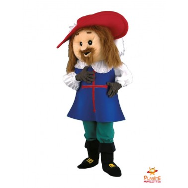Musketeer D'Artagnan mascot...