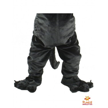 Pantalon mascotte panthère noire