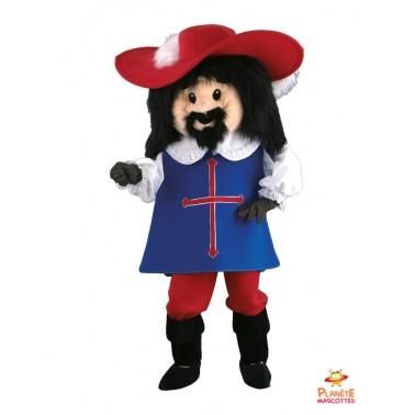 Musketeer Porthos mascot
