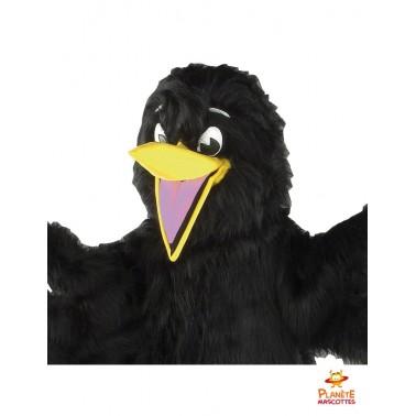 Costume mascotte corbeau