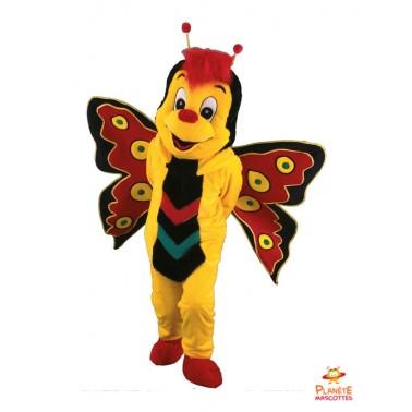 Costume mascotte de Papillon