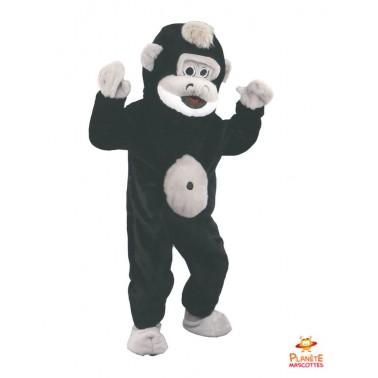 Mascotte singe costume...