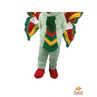 Pantalon mascotte papillon vert
