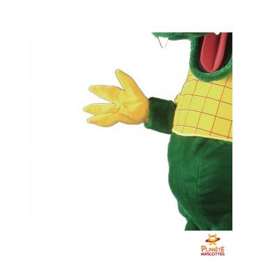 Détails costume mascotte dragon