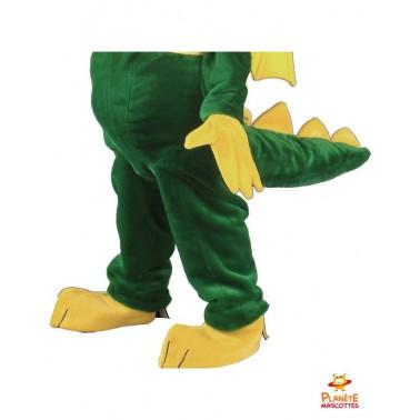 Pantalon mascotte de dragon