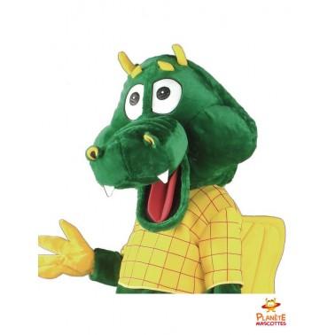 Costume mascotte de dragon