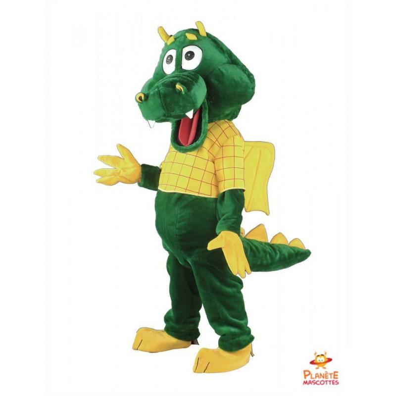 Mascotte dragon Planète Mascottes