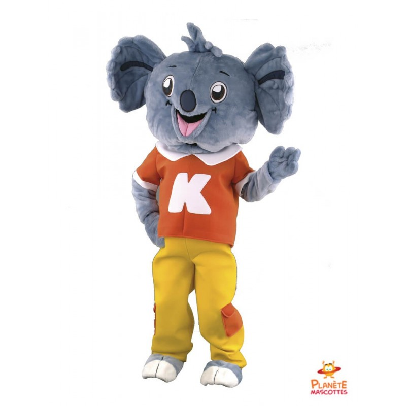 Mascotte koala Planète Mascottes