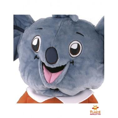 Tête mascotte costume koala