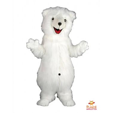 Mascotte d'ours blanc Planète Mascottes