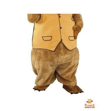 Pantalon mascotte marmotte
