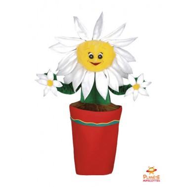 Déguisement mascotte Fleur