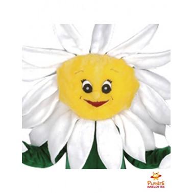 Tête mascotte de pot de fleur