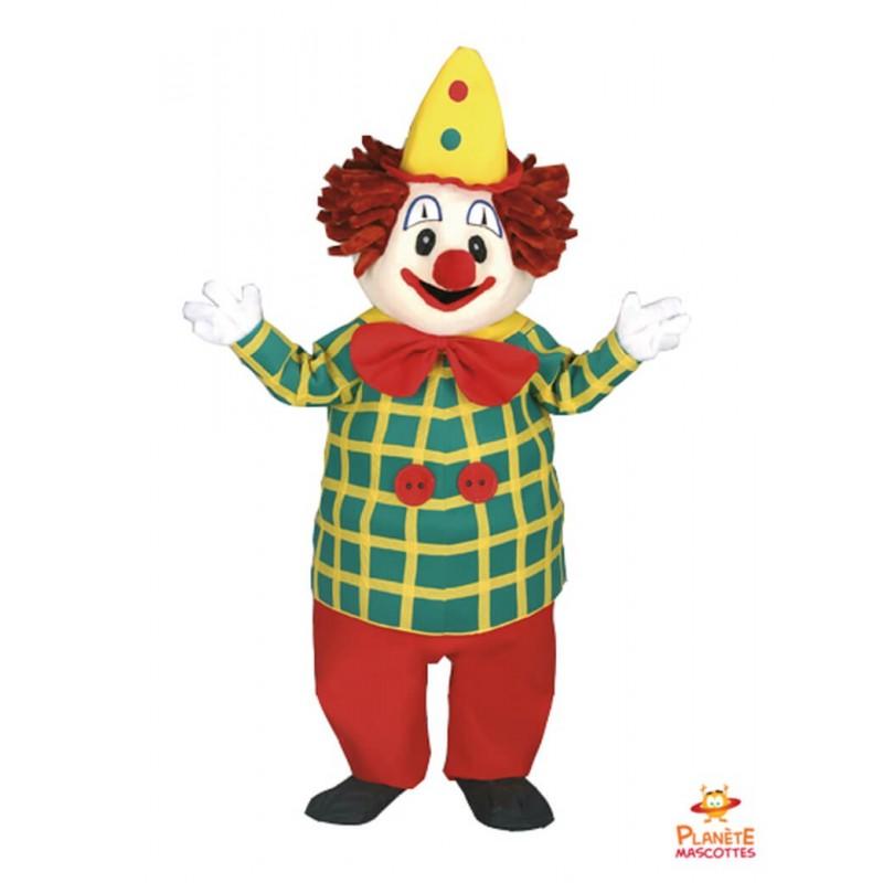Mascotte clown Planète Mascottes