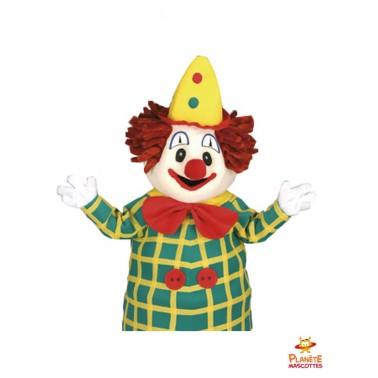 Costume mascotte de clown