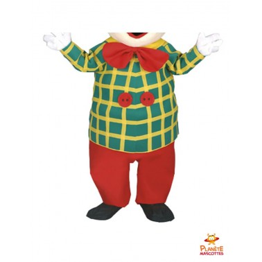 Pantalon costume mascotte clown