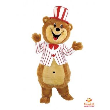 Bear mascot costume circus