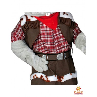 Costume mascotte souris Farwest