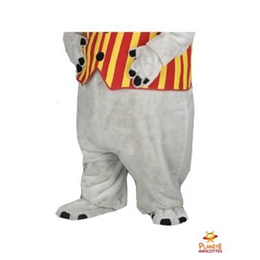 Pantalon mascotte de rhinocéros