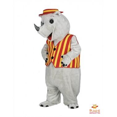 Rhino costume mascot
