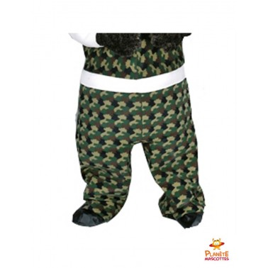 Pantalon mascotte sanglier