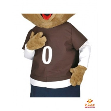 Costume mascotte de sanglier