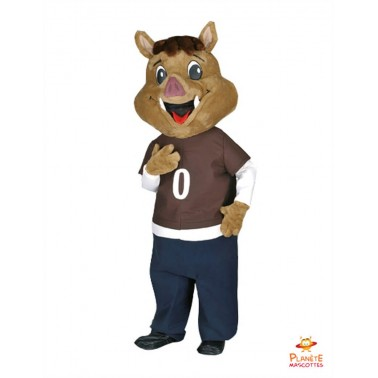 Boar Mascot Costume