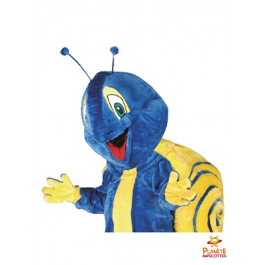 Costume mascotte d'escargot