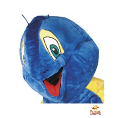 Tête mascotte escargot