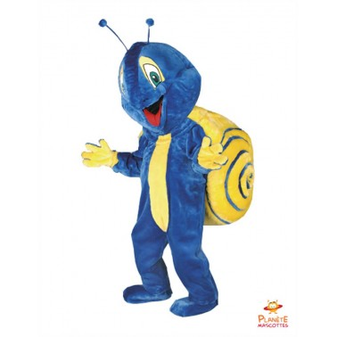 Snail costume mascot