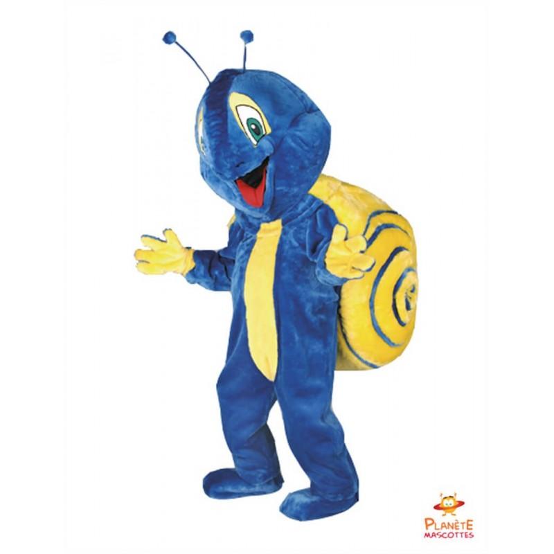Mascotte escargot Planète Mascottes