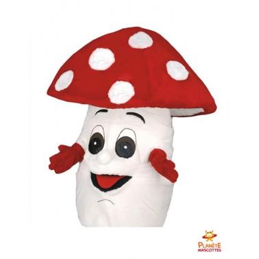 Mascotte de champignon