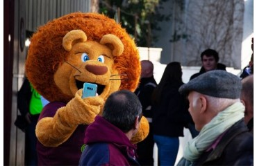 Léo, mascotte officielle de l'Union Bordeaux Bègles !